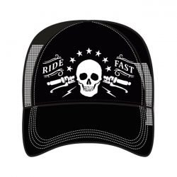 LT, MEN'S TRUCKER HAT RIDE FAST
