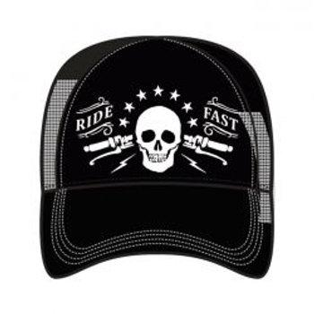 LT, MEN'S TRUCKER HAT RIDE FAST
