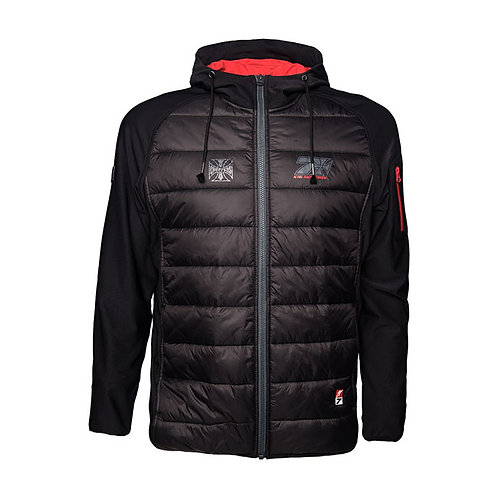 WCC KIMI CROSS SEVEN JACKET, BLACK