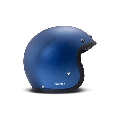 CAPACETE DMD VINTAGE METALLIC BLUE ECE APPR.