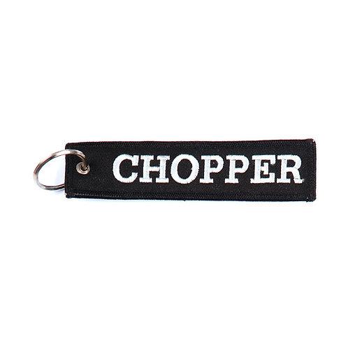 CHOPPER KEYCHAIN BLACK