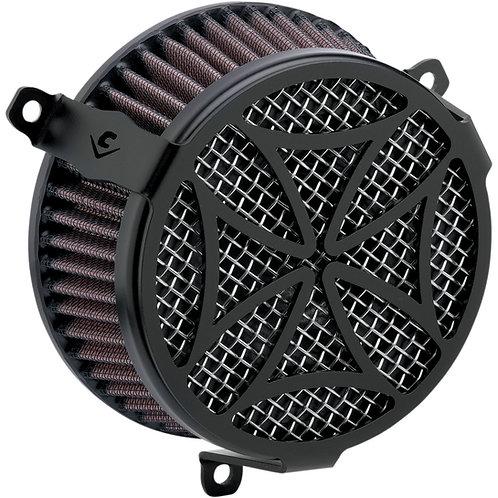 COBRA CROSS AIR CLEANER KIT BLACK HD