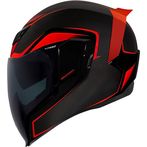 CAPACETE ICON CROSSLINK - RED
