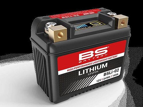 Bateria de lítio BS BATTERY BSLI-02