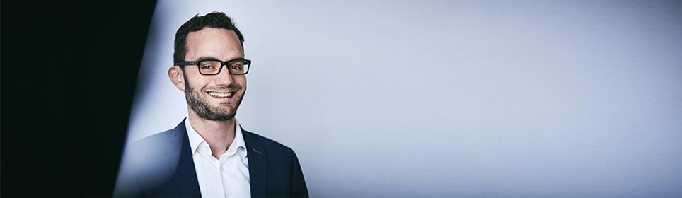 Tobias Angehrn, Gründer von finwize