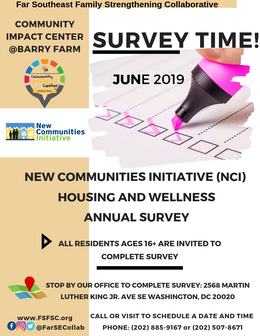 It's Survey Time! (Calling ALL Former Barry Farm Residents)