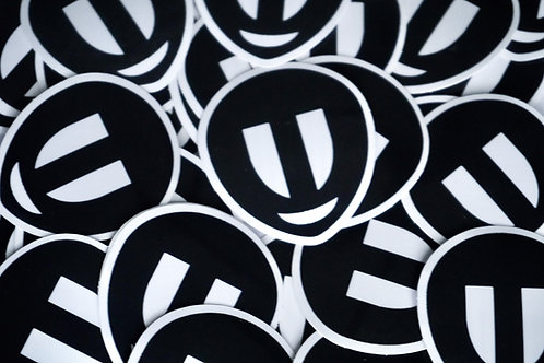 Alien Logo Sticker