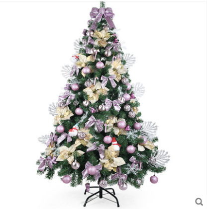 1 8m Rose Gold Christmas Tree With Decor
