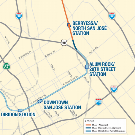 VTA's BART Silicon Valley Phase II