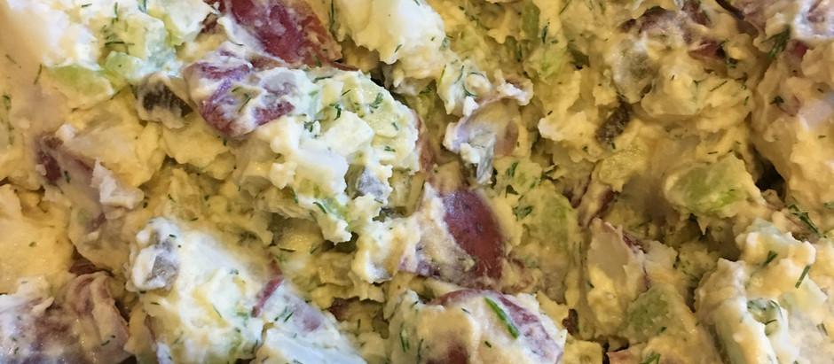 Classic Plant Based Potato Salad