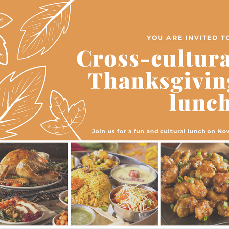 Celebrate a Cross-cultural Thanksgiving | by Sai Wang