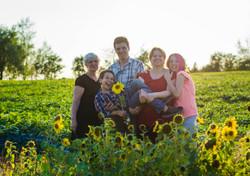 Famille photo art