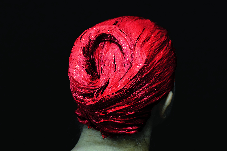 masque rouge 1