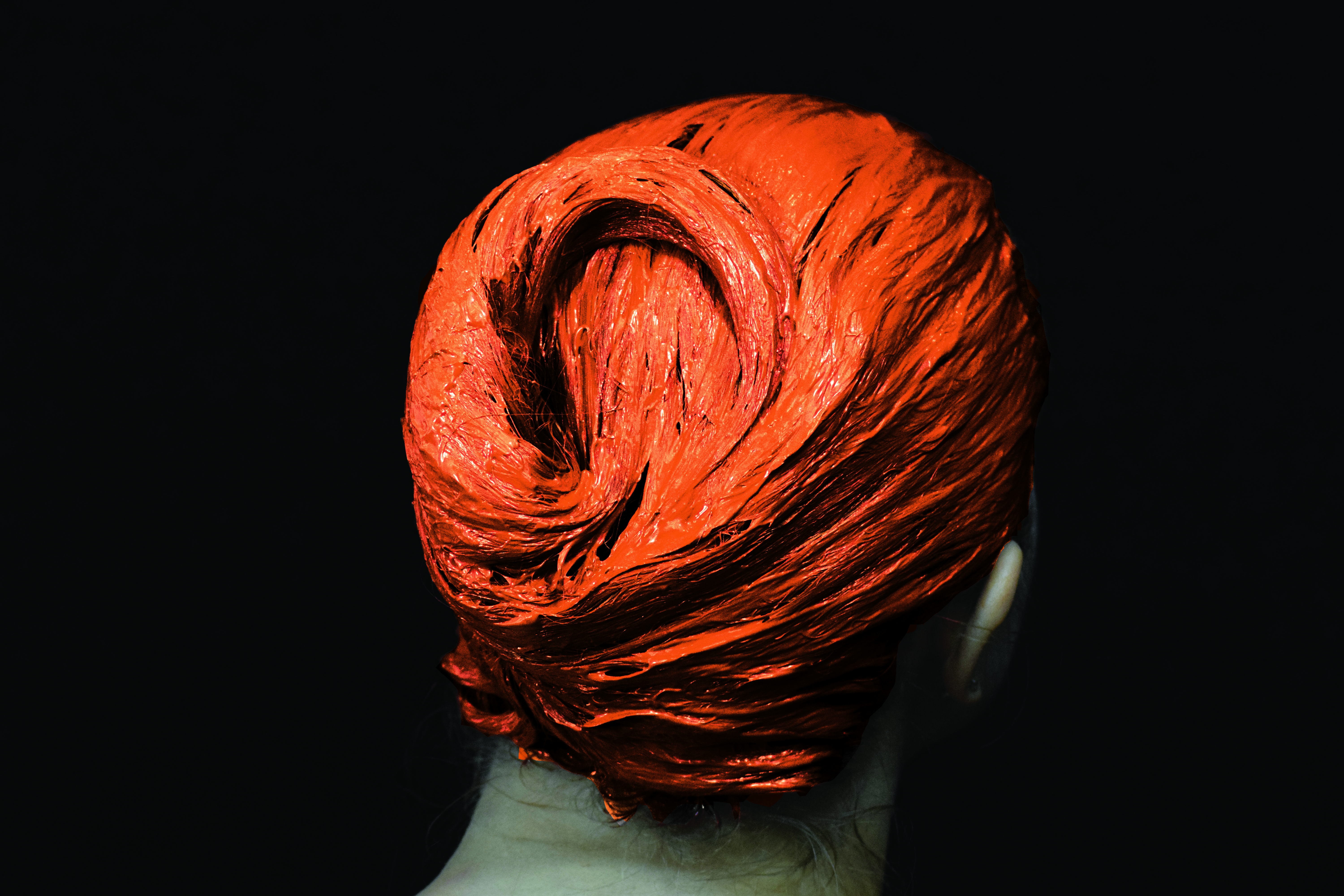 masque orange 1
