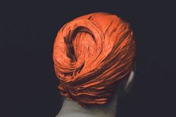masque orange 1