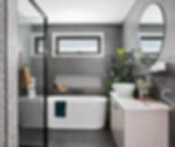 interior designed bathroom, interior designer launceston