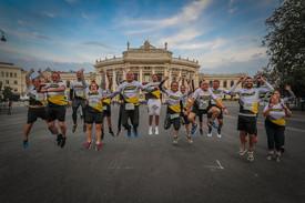 Team TEASPO startete beim Vienna Night Run 2019