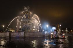 night photo session in paris