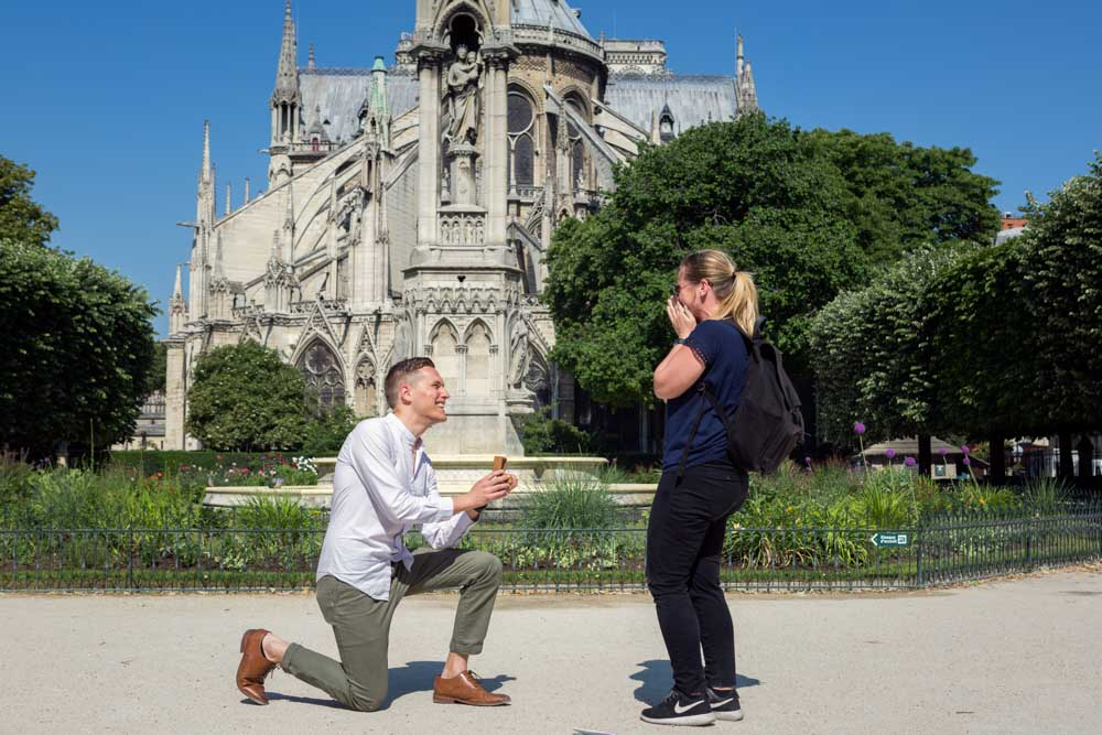 great proposal in paris