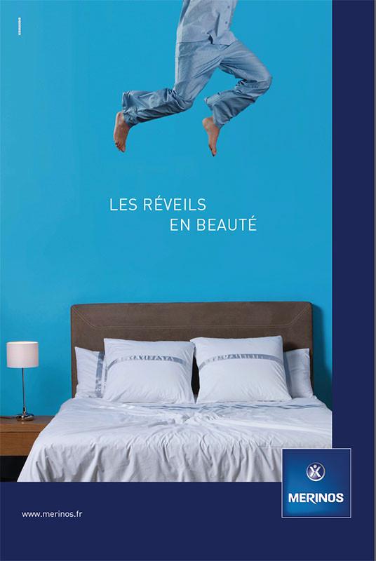Campagne publicité Mérinos