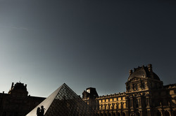 fring couple silhouette in paris