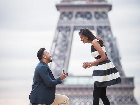 Surprise Proposal + Louvre