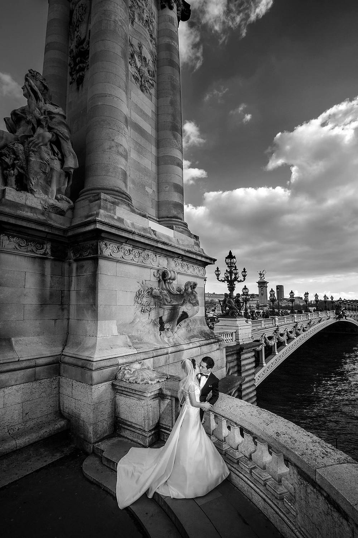 Paris photographer wedding session