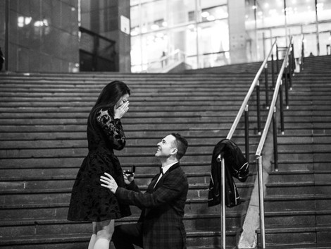 Surprise proposal at the Opera