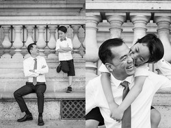 father and son photo session paris