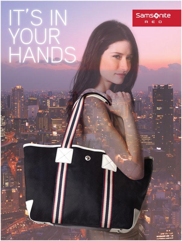 Campagne de publicité Samsonite Asie