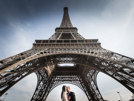 A post wedding session in Paris
