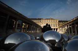 silhouette palais royal garden