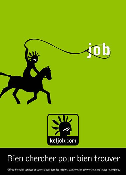 Campagne de publicité Keljob