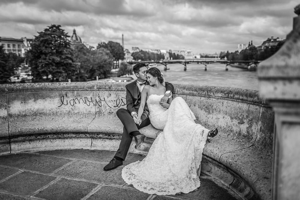 Love session on Le pont Neuf