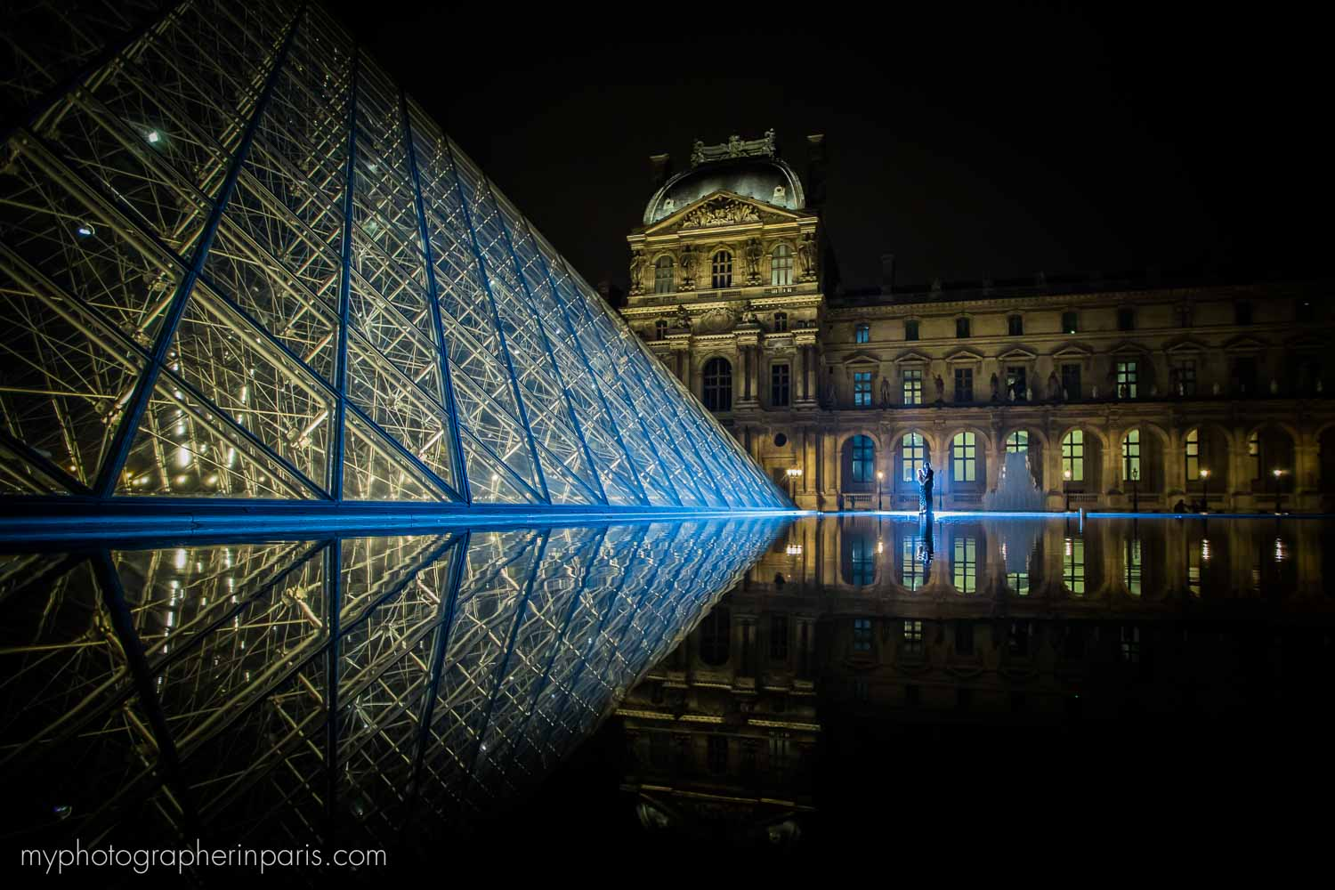 night session at le louvre paris