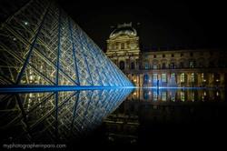 night session at le louvre paris