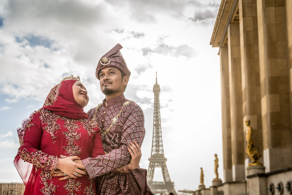 Lovely couple coming from Brunei