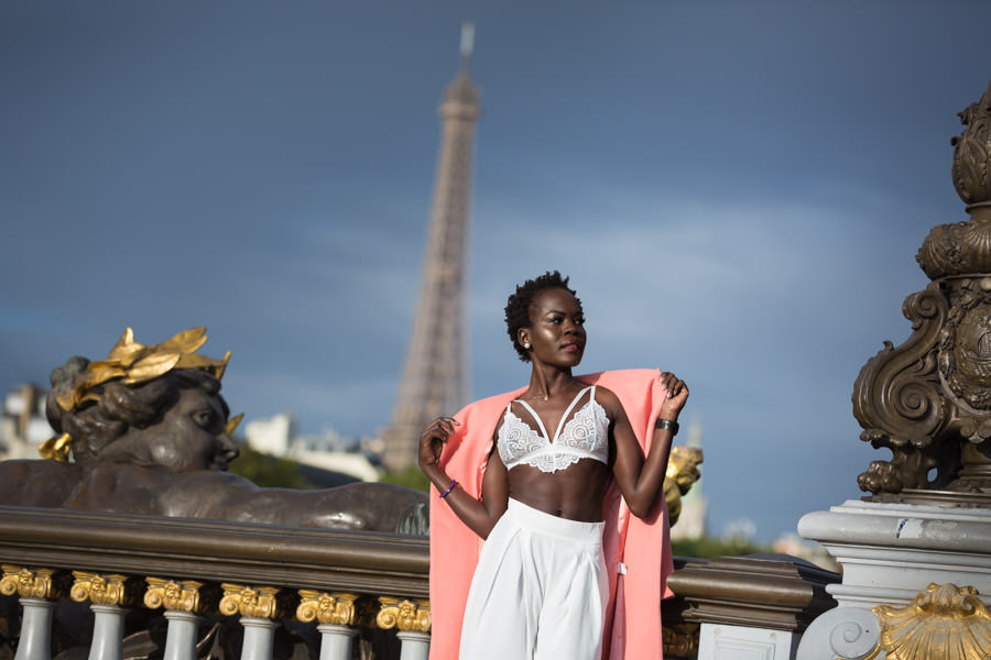 Solo photo session in Paris