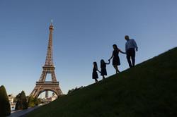 family phorto session in paris