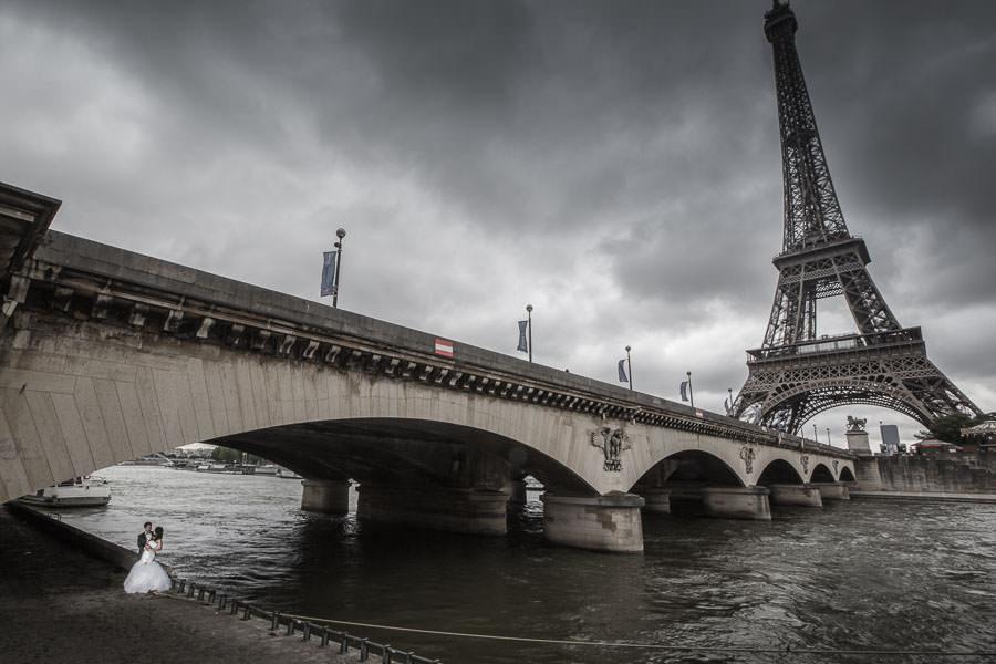 Paris photographer pont d'Iena