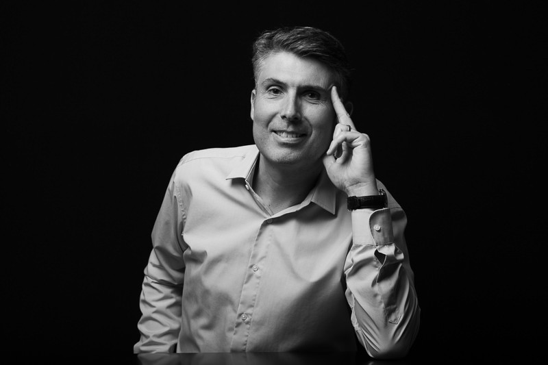 Portrait de dirigeant
