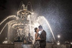 couple under the rain la concorde