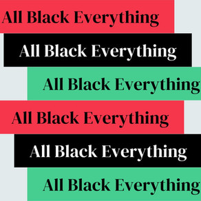 All Black Everything is Coming Back!