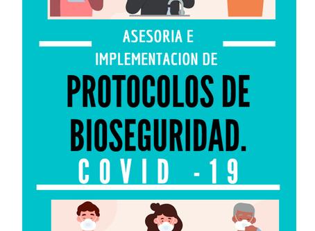 Necesitas implementar los protocolos de bioseguridad contra el COVID-19 en tu empresa?.