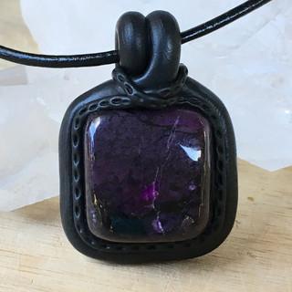 sugilite pendant