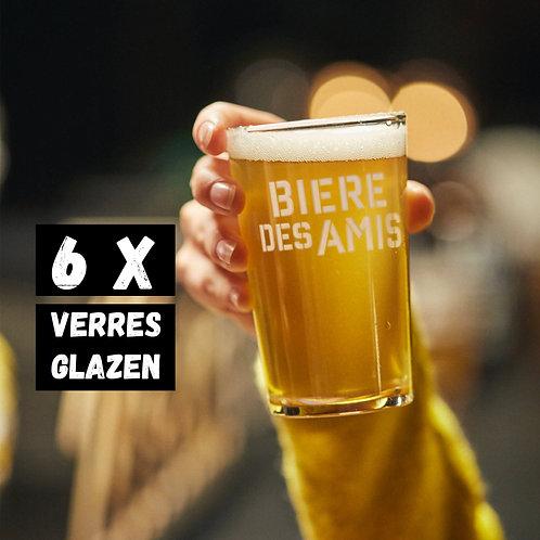 Verres Bière des Amis