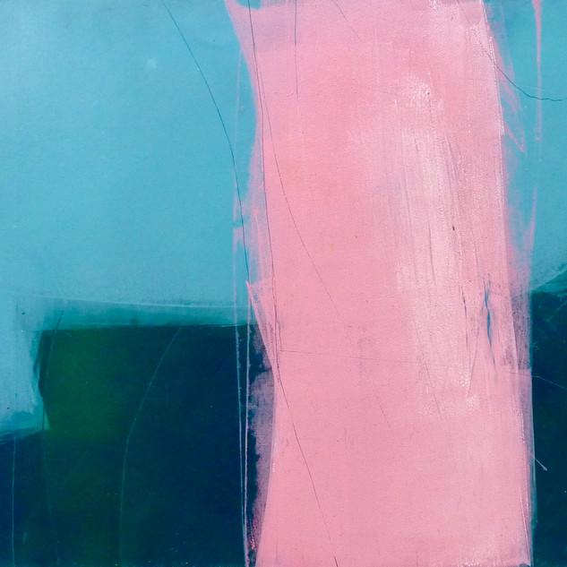 Monoprint No.59 Opening Pink