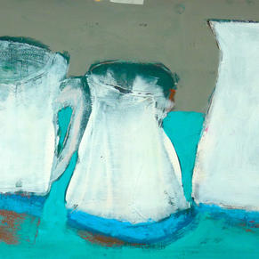 'Jugs In Turquoise'