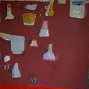 Still Life In Red Oxide