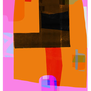 Abstract With Orange